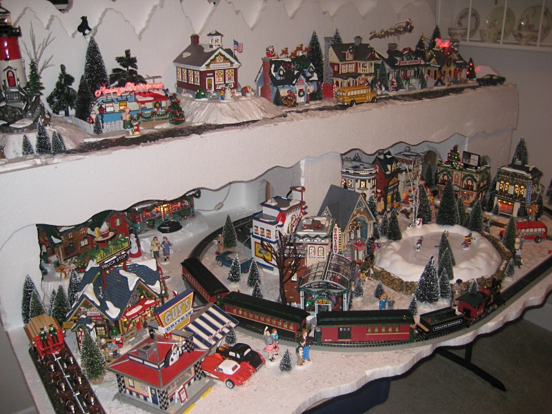 Combining Trains Amp Towns Written For Big Indoor Trains