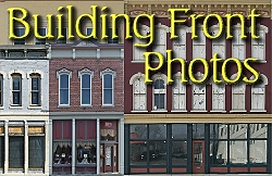To see downloadable building front photos, click on either the Large Scale or the O and S scale link below.