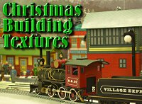 Click to see building textures for Christmas-themed tinplate-style buildings.