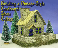 Click for free plans, graphics, and instructions to help you build this stone cottage.