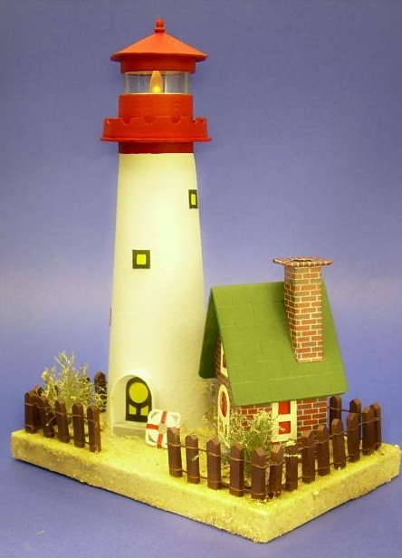 Building the sandy shores lighthouse keeper 39 s cottage for How to light a house