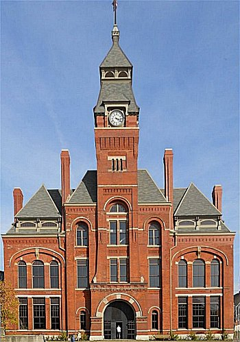 The Pullman Clock Tower, apparent inspiration for Santa's workshop in the Polar Express movie. Click for bigger photo.
