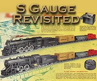 Click on this image to see our article about revisiting S scale trains after a 40-year absence.