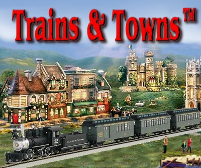 Trains-N-Towns. The official e-newsletter of Big Indoor Trains™ and Big Christmas Trains™ - Bringing you news about Christmas and On30 trains and the model communities they serve.